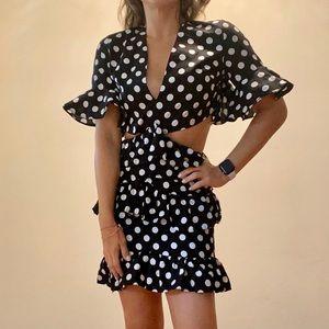 Saboskirt Vivi Cut Out Dress
